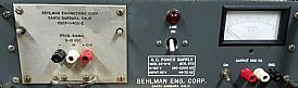 Behlman 25-B Image