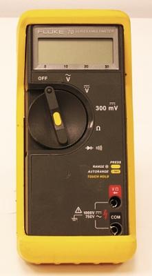 fluke digital multimeters multimeters new and used test rh testequipment center fluke 70 series ii multimeter user manual Fluke 77 BN Owner's Manual