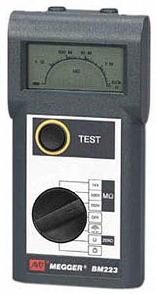 Megger Bm223 For Sale Insulation Resistance Testers