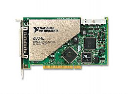 National Instruments PCI-6034E Image