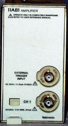Tektronix 11A81 Image
