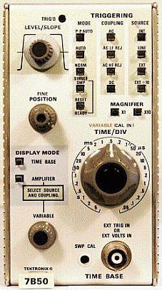 Tektronix 7B50 Image
