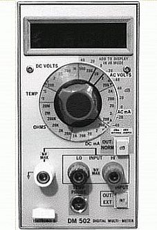 Tektronix DM502 Image
