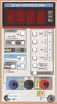 Tektronix DM502A Image