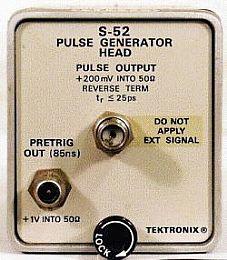 Tektronix S52 Image