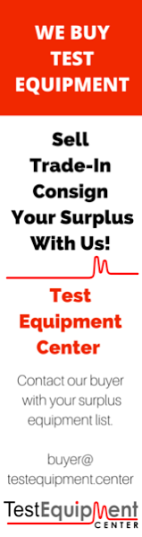 We Buy Test Equipment